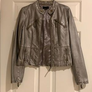 Metallic Jacket size M great condition